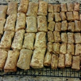 Pork Egg Rolls - dearexpletivebaby.com