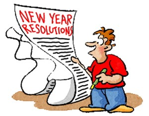 New Resolution: No more clip art in 2014. Unless it's those Bean guys. Those are classic.